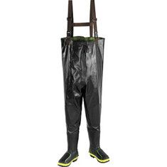 Special Offers Available Click Image Above: John Deere Boots Rubber Safety Toe Chest Wader Met (men's) - Black