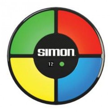 simon watch and reproduce the pattern of the game as the buttons