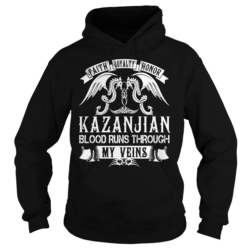 KAZANJIAN Blood - KAZANJIAN Last Name, Surname T-Shirt