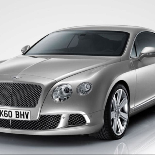 My Dream Car Bentley Continental Gt 2012 Classy Elegant