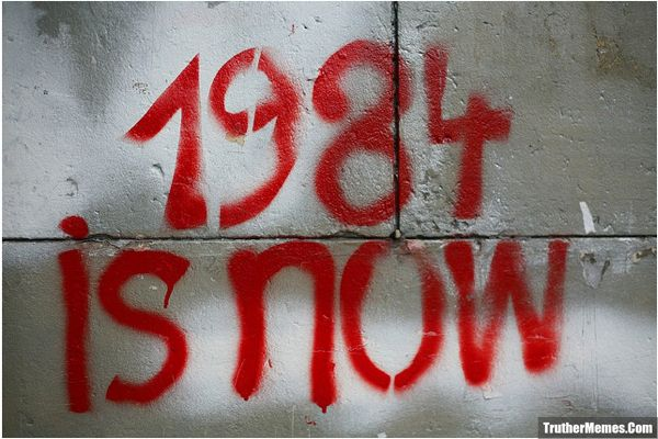 1984 is Now | George orwell 1984, Neon signs, Orwell