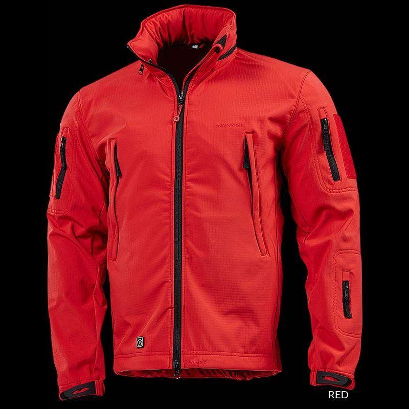 5b2b8548fa7472 Pentagon Artaxes Soft Shell Jacket - RED