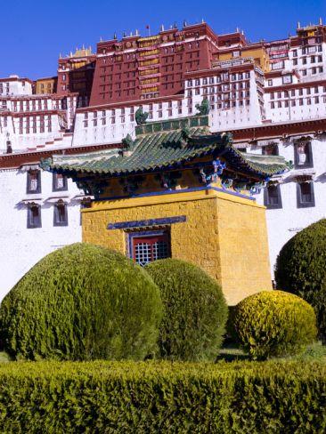 The Potala Palace Unesco World Heritage Site Lhasa Tibet China Lhasa Tibet Himalayas Nepal Unesco World Heritage Site