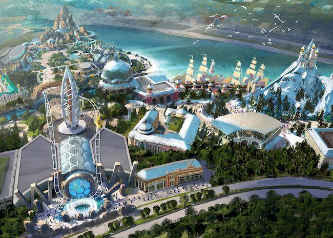 Polar Ocean World Design By Goddard Group Themepark Themed