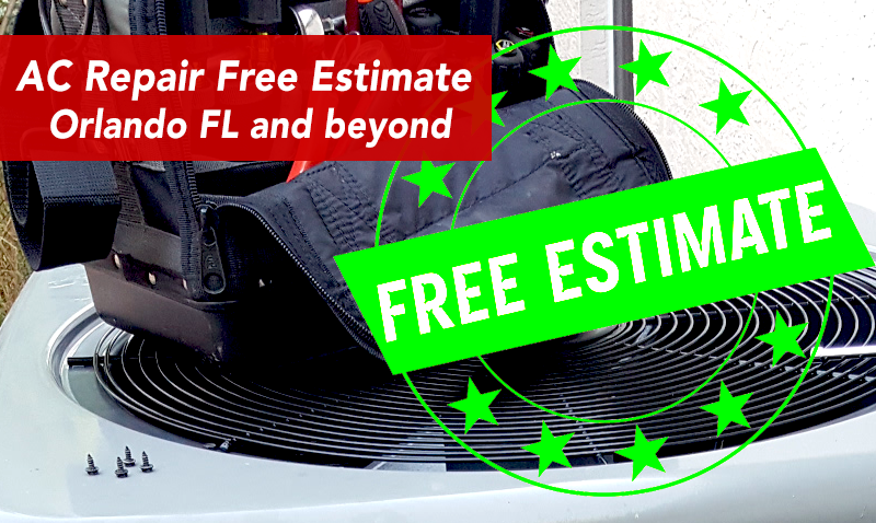 AC Repair Free Estimate Orlando Ac repair, Air