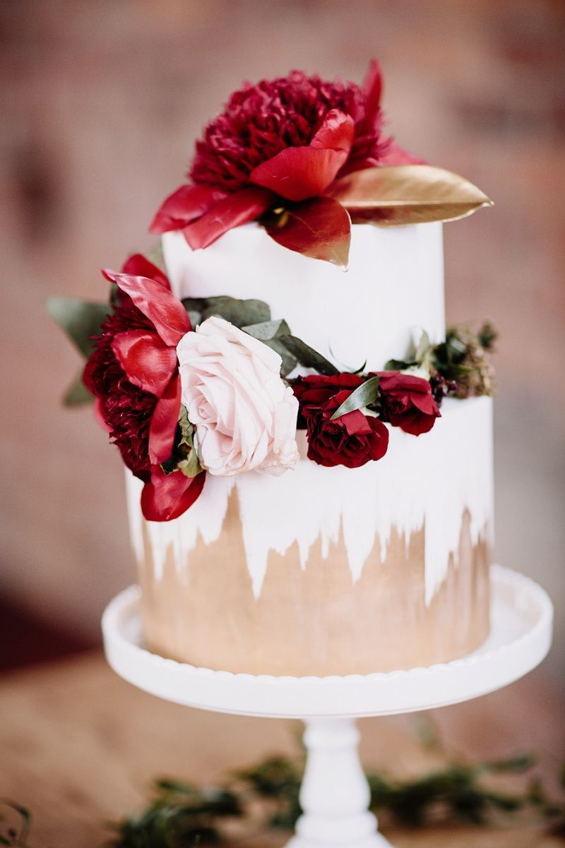 Red u gold festive wedding inspiration that will inspire any event