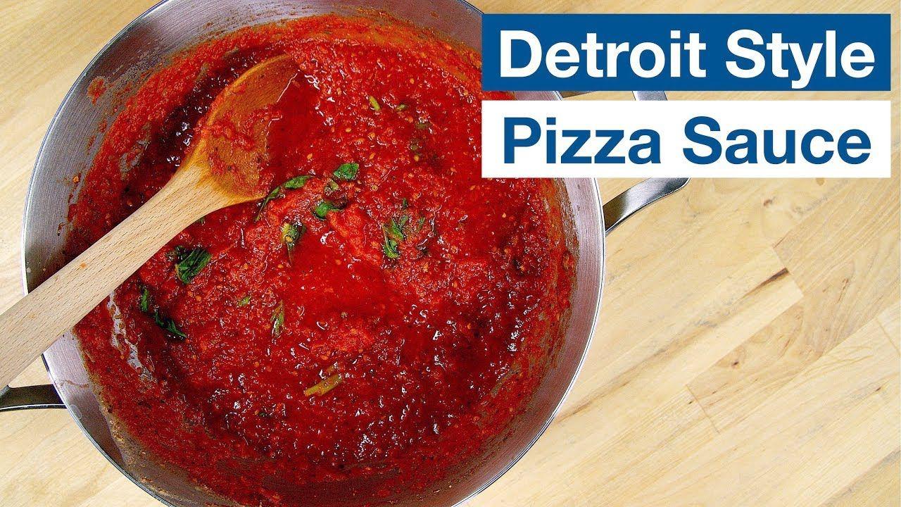 Detroit style pizza sauce recipe glen friends cooking