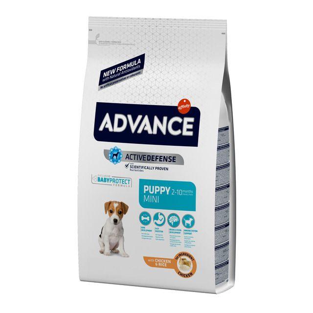 Pienso Para Perros Cachorros Mini Advance Baby Protect Pollo Y