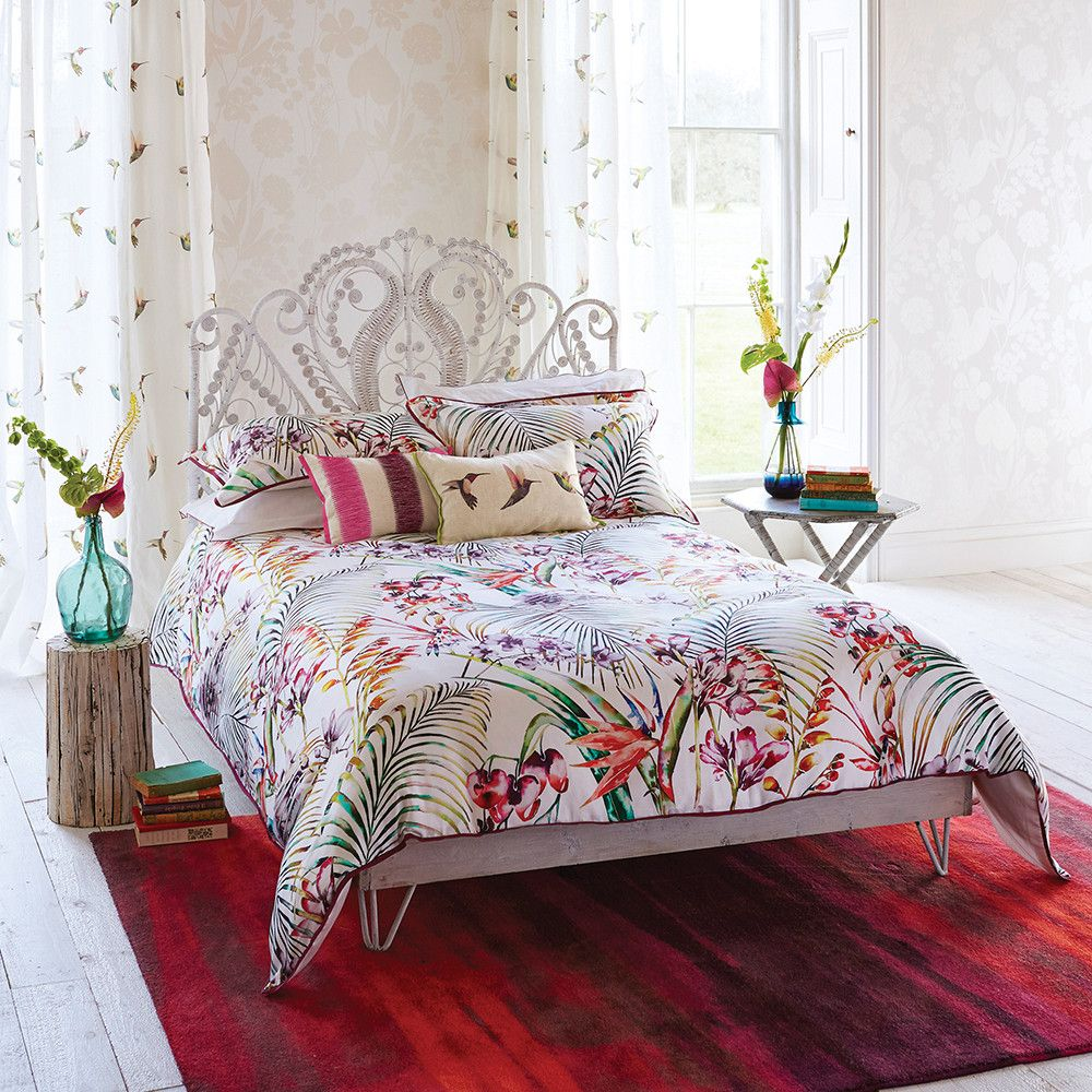 Discover The Harlequin Paradise Flamingo Duvet Cover Super King