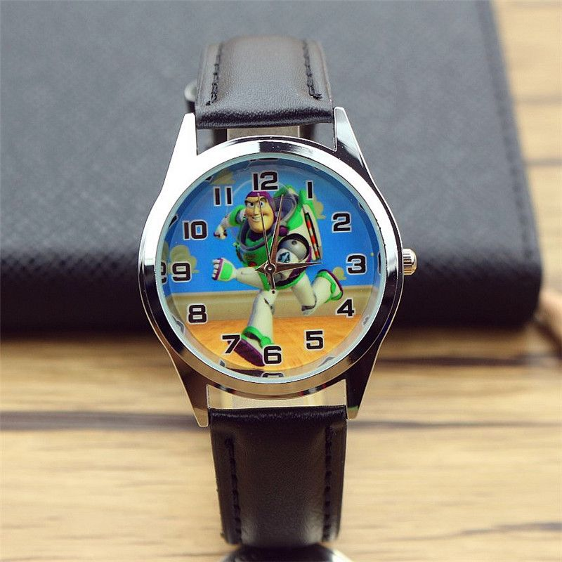 Children's Watches Useful The New Toy Story Buzz Lightyear Children Cartoon Quartz Children Wristwatch Watches Party Favors Gift