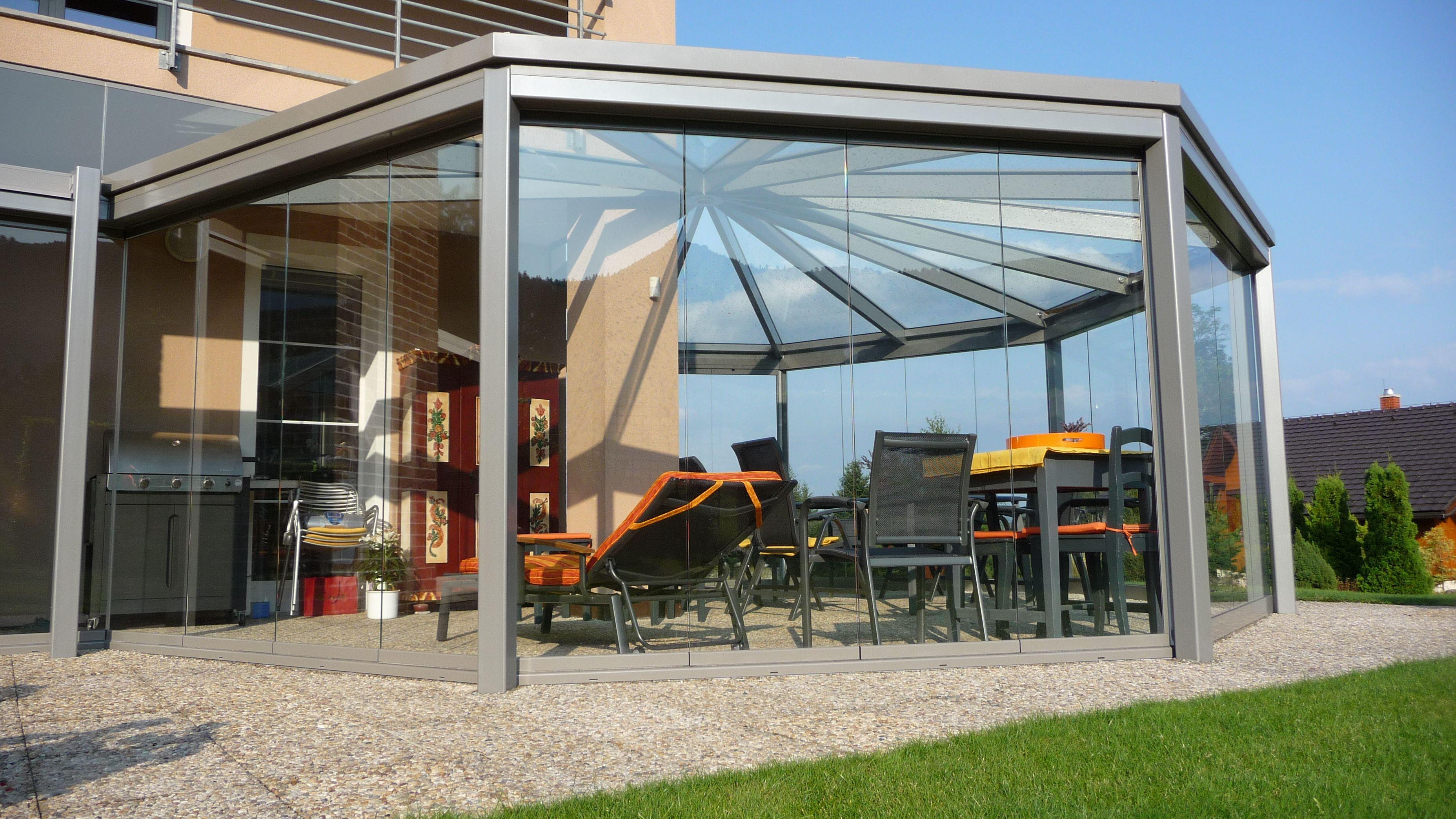 wintergarten balkonverbau verglasung ganzglaselemente sommergarten pinterest t ren. Black Bedroom Furniture Sets. Home Design Ideas