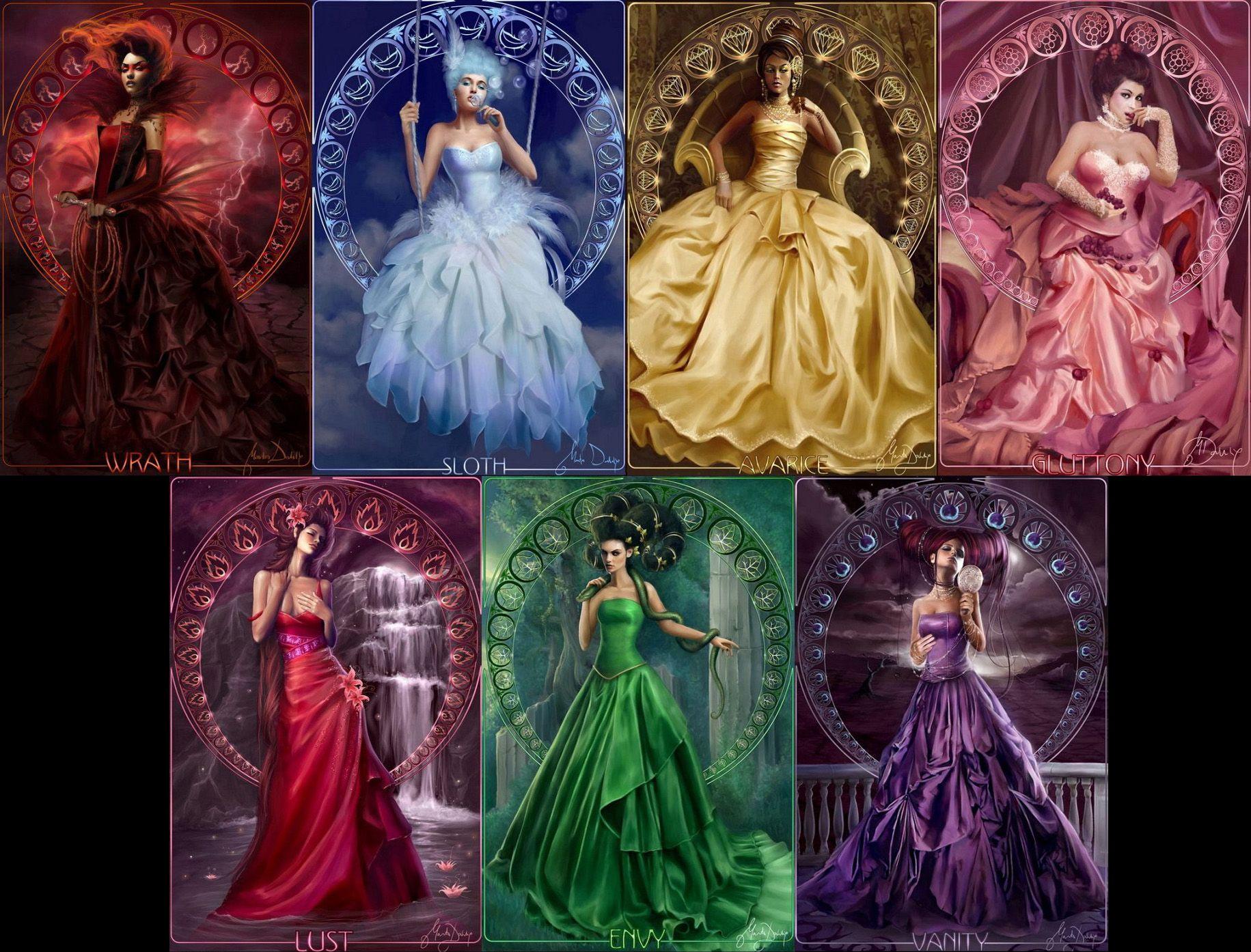 Marta Dahlig Fantasy Seven Deadly Sins Sins Women