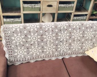Handmade Coffee Curtain crocheted door curtain cotton