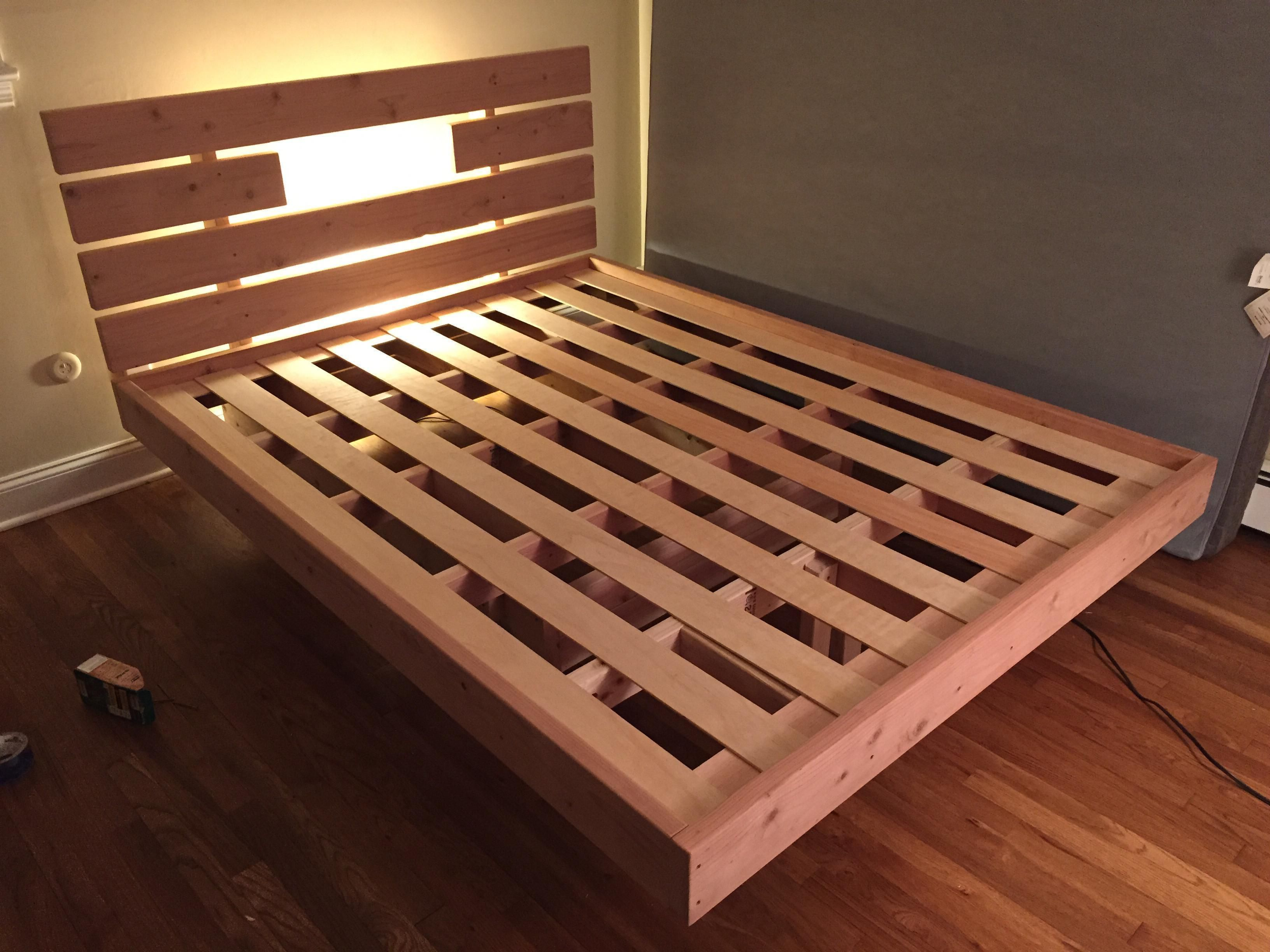 This Guy Made A Diy Floating Bed In 19 Simple Steps Wait Till You
