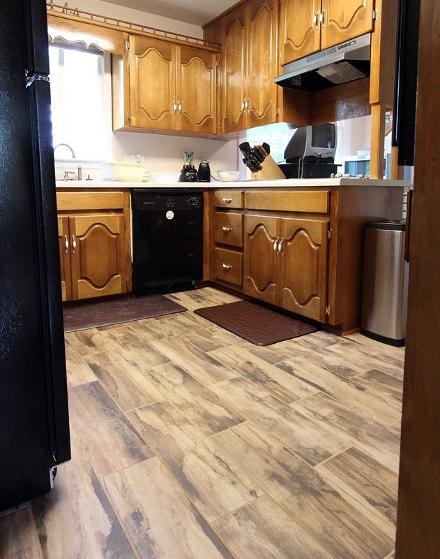 Mohawk Flooring\'s Torinetta Tile in Noir Oak | Decorating ...