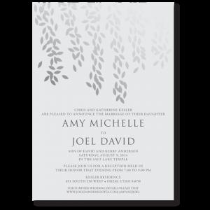 Beautiful Wedding Announcements.Beautiful Wedding Announcements 43 One Sided Beautiful Wedding