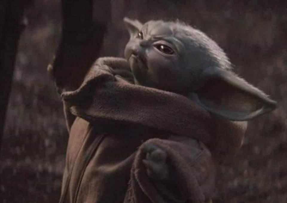 Baby Yoda Blank Meme Template In 2021 Yoda Meme Yoda Funny Yoda