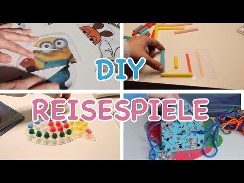 (17162) DIY REISESPIELE - Spiele für unterwegs selber machen / Busy Bags / Kinderspiele / TäglichMama - YouTube