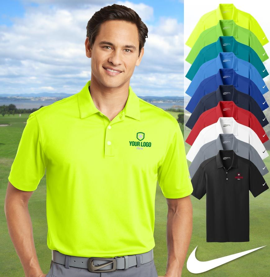 82a2eed81 Men's Nike Golf Dri-FIT Vertical Mesh Polo Designed for the ultimate in  performance, this polo has an understated vertical mesh texture.