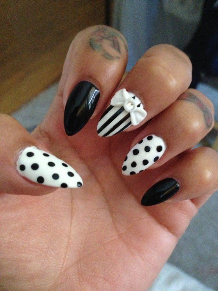 This weeks design choice stiletto black white polka dots this weeks design choice stiletto black white polka dots stripes kevins prinsesfo Choice Image