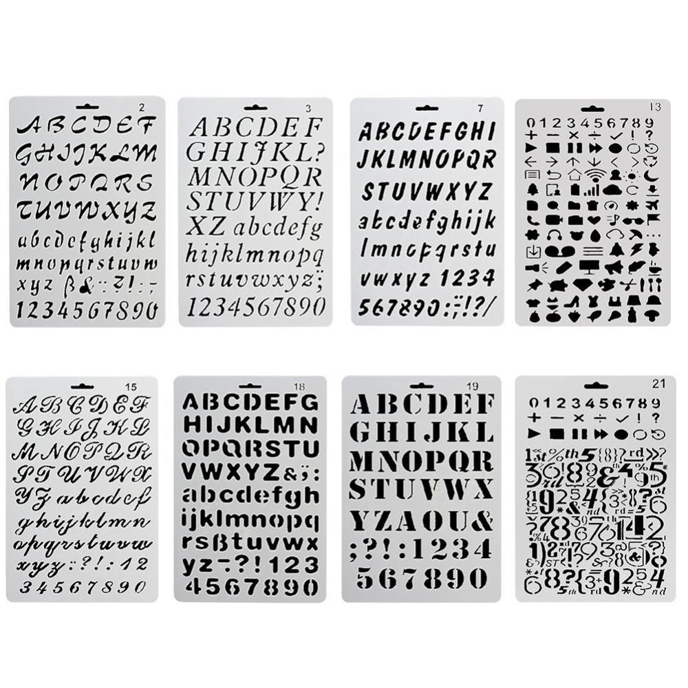 Self Adhesive Number Memory Stickers for DIY Scrapbooking Handcraft Diary Decor