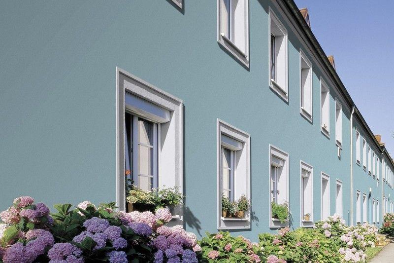 Streich Die Fassade! Ein Reihenhaus Ist Ganz Und Gar Nicht ... Farbe Einfamilienhaus Turkis