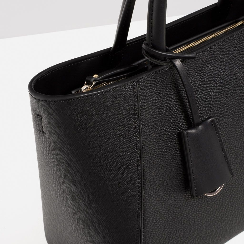 93188ccc42c TOTE BAG-View all-BAGS-WOMAN | ZARA Philippines | Bags | Zara tote ...