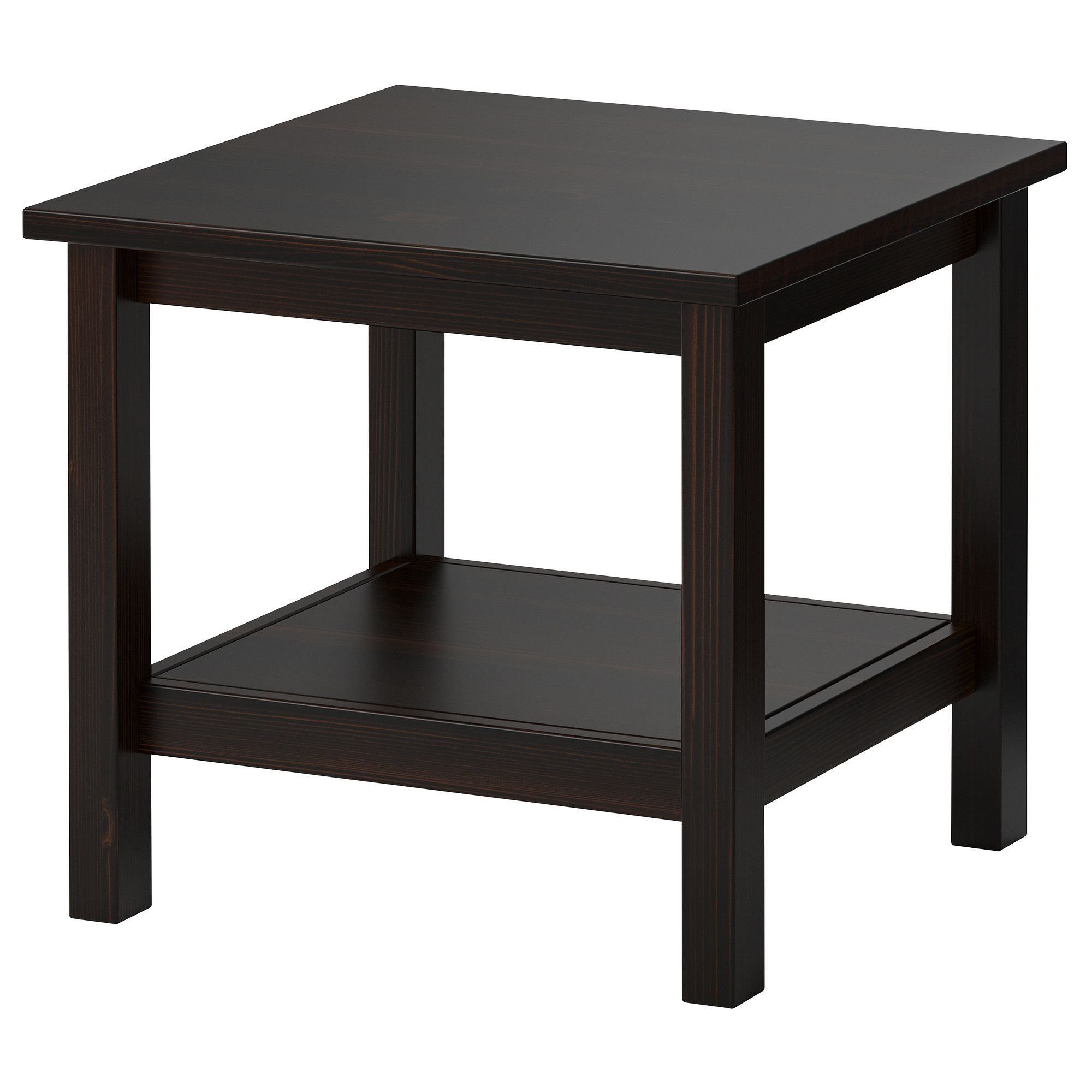hemnes side table - black-brown - ikea | for the home | pinterest