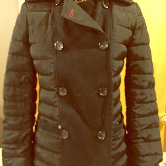 Winter jacket Timmy hilfiger jacket. Classy but can wear any where. Tommy Hilfiger Jackets & Coats Pea Coats