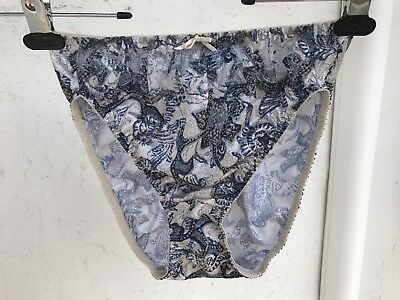 df4395f7cc7 Maidenform Chantilly Nylon and Lace Bikini Hi Leg Brief Panties L Large