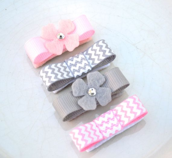 Baby Hair Clips - Infant Snap Clips - Baby Hair bows - Baby Snap Clips #babyhairaccessories