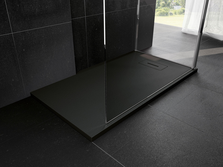 Le receveur de douche novosolid ultra plat a poser ou a - Receveur douche a encastrer ...