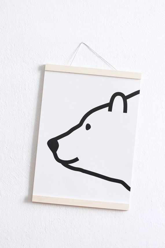 Hey, I found this really awesome Etsy listing at https://www.etsy.com/listing/463084483/polar-bear-print-kids-room-poster-prints