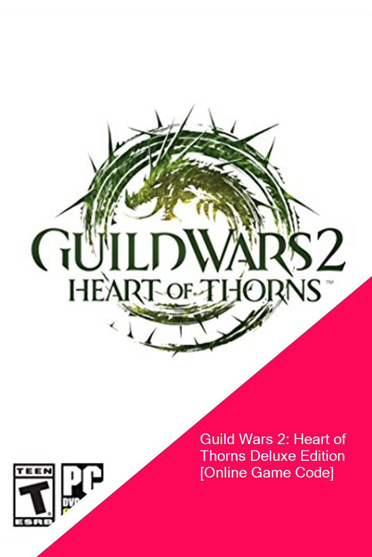 Guild Wars 2 Heart Of Thorns Deluxe Edition Online Game Code Software Guild Wars Guild Wars 2 Game Codes