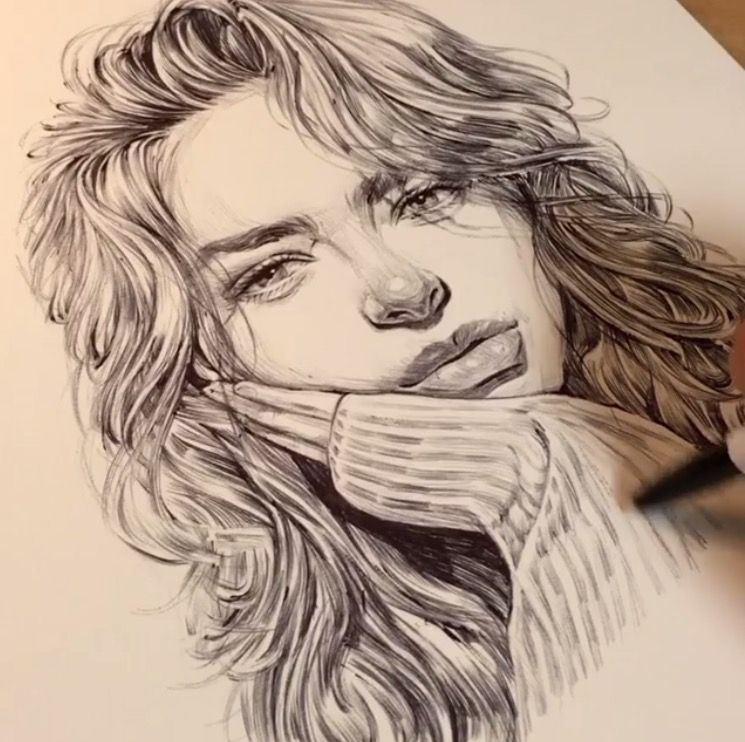 Pin By S M I L E On Art Pencil Portrait Drawing Portrait Drawing Artist Inspiration