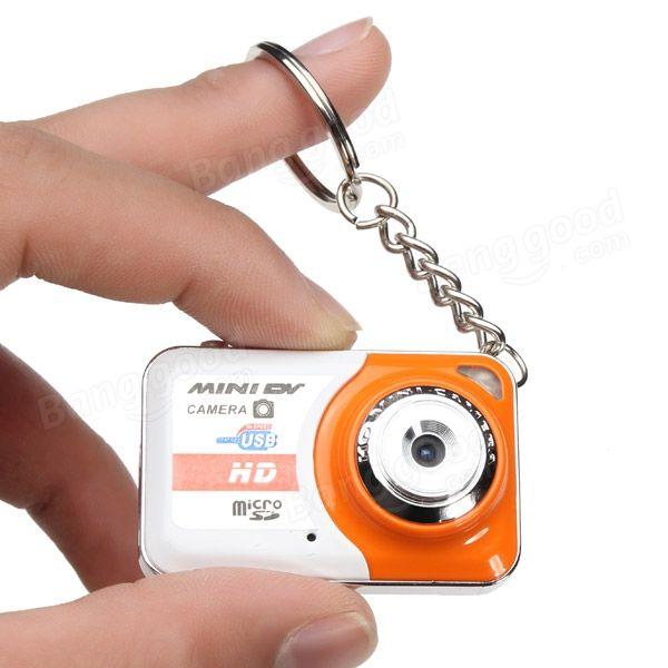 X6 Mini DV Mini DVR Camera Recorder Video Camera Mini Camcorder Sports DV/Camera Sale - Banggood.com