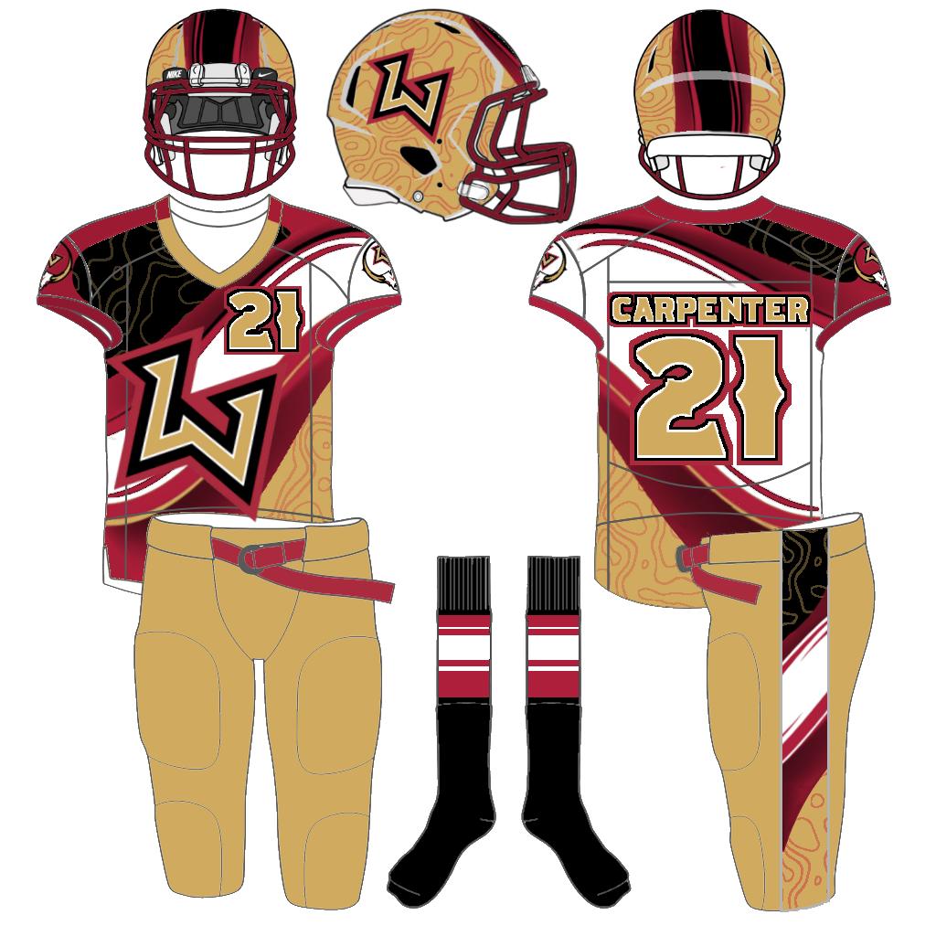 Las Vegas Outlaws Xfl Xfl Reimagined Uni Watch American Football