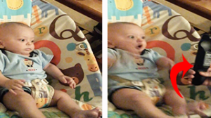 Baby Explodes With Excitement Every Time His Silly Parents Show Him The TV Remote