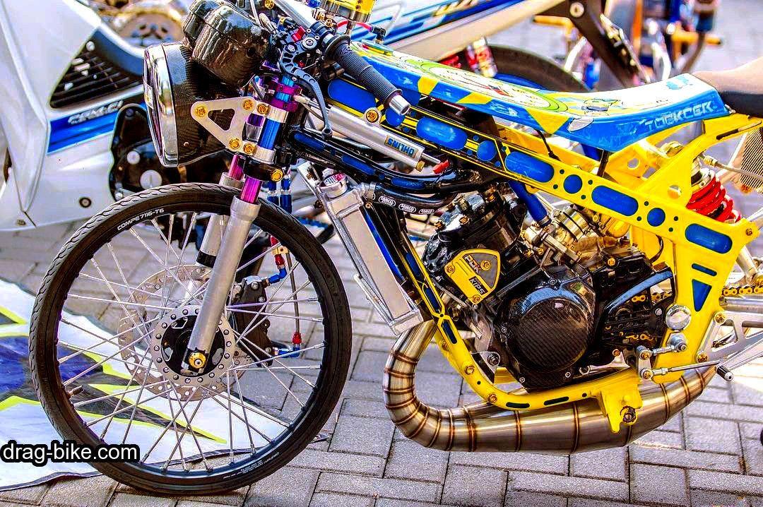 Foto Modifikasi Ninja Drag Thailand Style Gambar Sepeda Motor