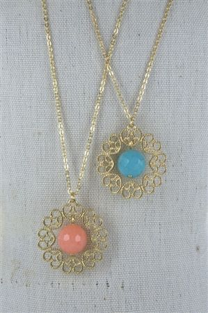 Spring necklace.  This week just $6.00