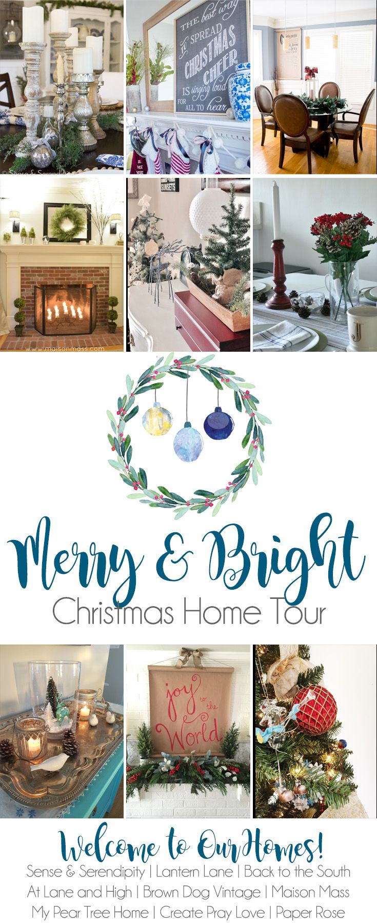 Nice Itu0027s A Merry U0026 Bright Christmas Home Tour! Join Us For Some Inspiring And  Festive Decor This Year!