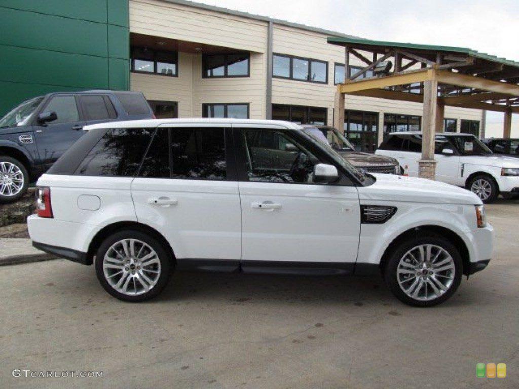 2013 Range Rover HSE Fuji White Bing Images Range