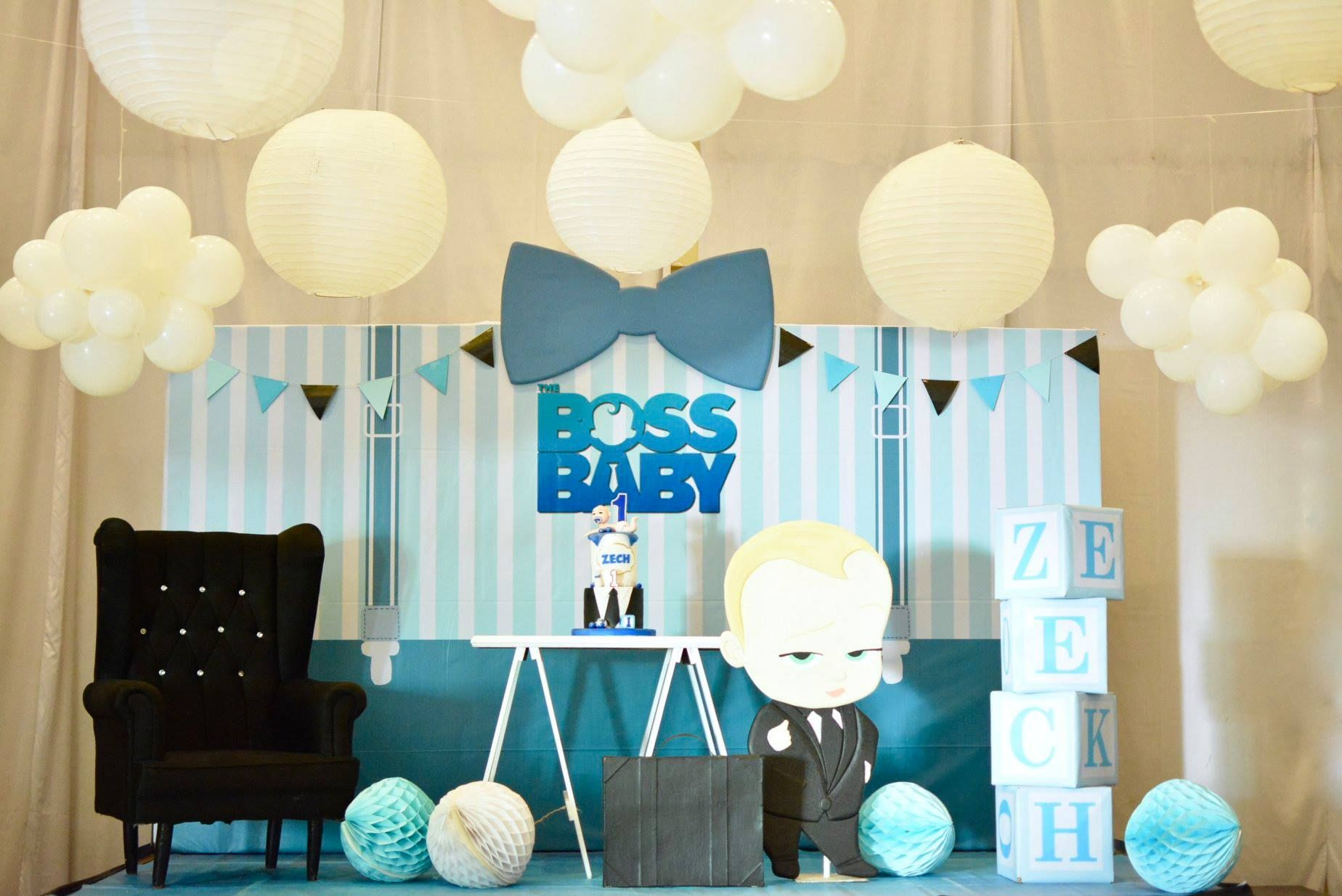 Boss Baby Themed Stage Backdrop Boss Baby Birthday Party