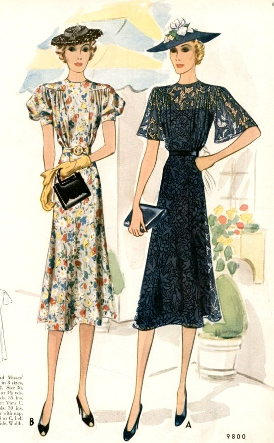 1940s Fashion History For Women And Men 1940s Fashion