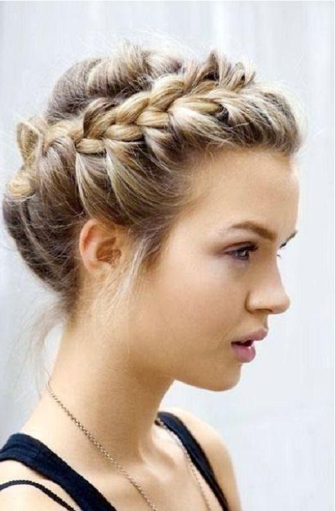 peinados con coletas | cumple | Pinterest | Coletas, Peinados de ...
