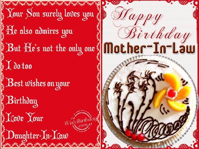 43 best birthday images on pinterest happy birthday greetings happy birthday message for mother law from daughter images messages wishes m4hsunfo