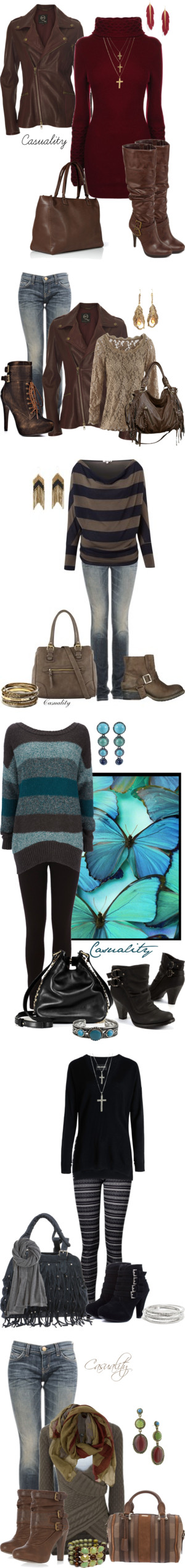 """Rebel Chic"" by casuality ❤ liked on Polyvore"