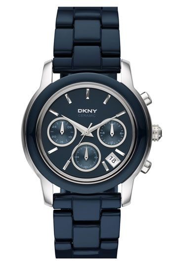 DKNY navy blue watch  bae5196970