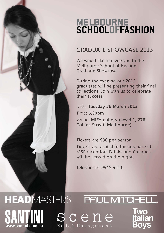 Melbourne School of Fashion - Graduate Showcase 2013 | Fashion
