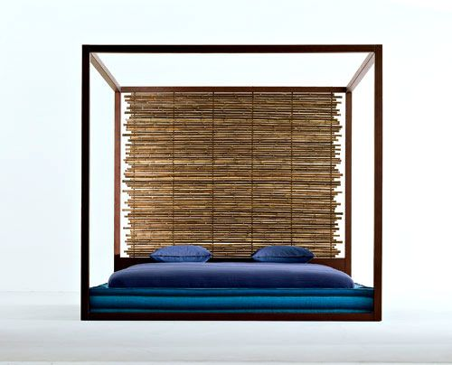 Bamboo bed Furniture and design Pinterest Canopy, Bamboo